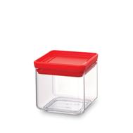 Brabantia Прямоугольный контейнер (0,7 л), Красный  - арт.290008, фото 1