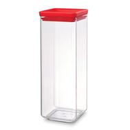Brabantia Прямоугольный контейнер (2,5 л), Красный  - арт.290046, фото 1