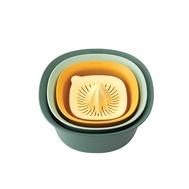 Brabantia Кухонный набор (миски 1,5 л и 3,2 л; мерный стакан / соковыжималка 0,5 л)  - арт.122262, фото 1
