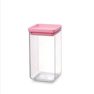 Brabantia Прямоугольный контейнер (1,6 л), Розовый  - арт.290084, фото 1