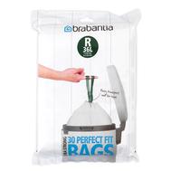 Brabantia Мешки для мусора PerfectFit, размер R (36 л), упаковка-диспенсер, 20 шт.  - арт.115646, фото 1