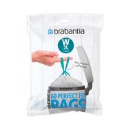 Brabantia Мешки для мусора PerfectFit, размер W (5 л), упаковка-диспенсер, 60 шт.  - арт.116827, фото 1