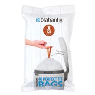Brabantia Мешки для мусора PerfectFit, размер X (10-12 л), упаковка-диспенсер, 40 шт.  - арт.116841, фото 1