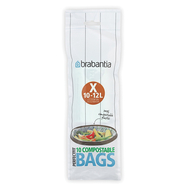 Brabantia Биоразлагаемые мешки для мусора PerfectFit, размер X (10-12л), 10 шт.  - арт.118685, фото 1