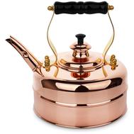 Чайник для газовой и электрической плиты Richmond, эдвардианской ручной работы, медь, 1.7л - арт.RICHMOND NO.1, фото 1