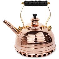 Чайник для газовой плиты Richmond, эдвардианской ручной работы, медь, 1.7л - арт.RICHMOND NO.10, фото 1