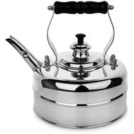 Чайник для электрической плиты Richmond, эдвардианской ручной работы, медь с хромированной отделкой, 1.7л - арт.RICHMOND NO.2, фото 1