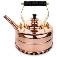 Чайник для газовой плиты Richmond, эдвардианской ручной работы, медь, 1.7л - арт.RICHMOND NO.3, фото 1