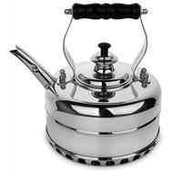 Чайник для газовой плиты Richmond, эдвардианской ручной работы, медь с хромированной отделкой, 1.7л - арт.RICHMOND NO.4, фото 1