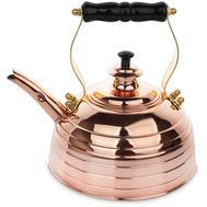 Чайник для плиты (газ и электро) эдвардианской ручной работы, медь, 1.7л - арт.RICHMOND NO.8, фото 1