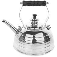 Чайник для газовой и электрической плиты Richmond, эдвардианской ручной работы, медь с хромированной отделкой, 1.7л - арт.RICHMOND NO.9, фото 1