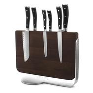 Набор ножей 6 предметов Wusthof Classic Ikon, магнитная подставка, кованая нержавеющая сталь, Золинген, Германия - арт.9884, фото 1
