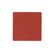 LINDDNA 990000 NUPO sienna Подстаканник из натуральной кожи квадратный 10x10 см, толщина 1,6 мм, фото 1