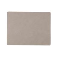 LINDDNA 981170 NUPO light grey Подстановочная салфетка из натуральной кожи прямоугольная 35x45 см, толщина 1,6 мм, фото 1