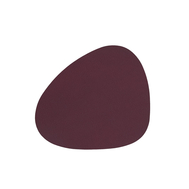 LINDDNA 981414 NUPO plum Подстаканник из натуральной кожи фигурный 11x13 см, толщина 1,6 мм, фото 1