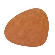 LINDDNA 990018 HIPPO nature Подстановочная салфетка из натуральной кожи фигурная 37х44 см, толщина 1,6мм, фото 1