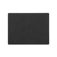 LINDDNA 981914 NUPO black Подстановочная салфетка из натуральной кожи прямоугольная 35x45 см, толщина 1,6 мм, фото 1