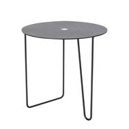 LINDDNA 990120 Cloud black/brown журнальный столик Turntable с круглой столешницей 48х48см, фото 1