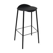 LINDDNA 981332 Hippo black-anthracite высокий стул Flamingo 40х75см, фото 1