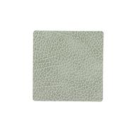 LINDDNA 983513 HIPPO olive green Подстаканник из натуральной кожи квадратный 10x10 см, толщина 1,6 мм, фото 1