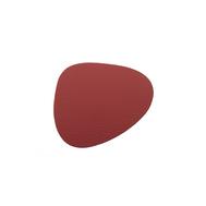 LINDDNA 9855 BULL red Подстаканник из натуральной кожи фигурный 11x13 см, толщина 2мм, фото 1