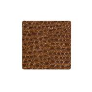 LINDDNA 98902 LACE brown Подстаканник из натуральной кожи квадратный 10х10 см, толщина 1,6мм, фото 1