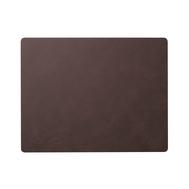 LINDDNA 983411 NUPO purple Подстановочная салфетка из натуральной кожи прямоугольная 35x45 см, толщина 1,6 мм, фото 1