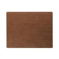 LINDDNA 98895 BUFFALO nature Подстановочная салфетка из натуральной кожи прямоугольная 35x45 см, толщина 2мм, фото 1