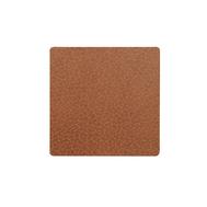 LINDDNA 98356 BULL nature Подстаканник из натуральной кожи квадратный 10x10 см, толщина 2мм, фото 1