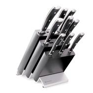 Набор ножей Wusthof Classic Ikon, 9 предметов, подставка из бука, кованая нержавеющая сталь, Золинген, Германия - арт.9873, фото 1