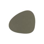 LINDDNA 982492 NUPO army green Подстаканник из натуральной кожи фигурный 11x13 см, толщина 1,6 мм, фото 1