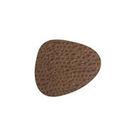 LINDDNA 98901 LACE brown Подстаканник из натуральной кожи фигурный 11х13 см, толщина 1,6мм, фото 1