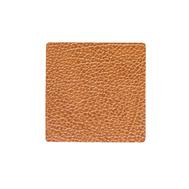 LINDDNA 990024 HIPPO nature Подстаканник из натуральной кожи квадратный 10x10 см, толщина 1,6 мм, фото 1