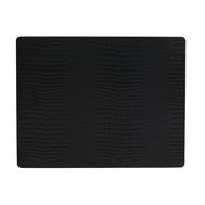 LINDDNA 98326 CROCO black Подстановочная салфетка из натуральной кожи прямоугольная 35x45 см, толщина 2мм, фото 1
