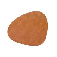 LINDDNA 990017 HIPPO nature Подстановочная салфетка из натуральной кожи фигурная 24х28 см, толщина 1,6мм, фото 1