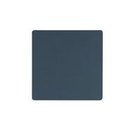 LINDDNA 982498 NUPO dark blue Подстаканник из натуральной кожи квадратный 10x10 см, толщина 1,6 мм, фото 1