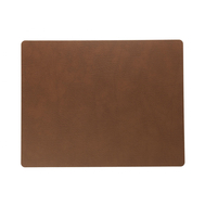 LINDDNA 98404 BULL nature Подстановочная салфетка из натуральной кожи прямоугольная 35x45 см, толщина 2мм, фото 1