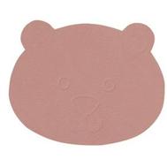LINDDNA 9803 NUPO rose Подстаканник из натуральной кожи Медвежонок, диаметр 12 см, толщина 1,6 мм, фото 1