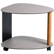 LINDDNA 981015 Hippo anthracite-grey журнальный столик двухъярусный 62х73х45см, фото 1