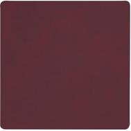 LINDDNA 981039 NUPO plum Подстаканник из натуральной кожи квадратный 10x10 см, толщина 1,6 мм, фото 1