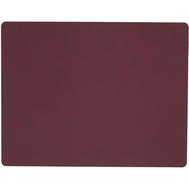 LINDDNA 981048 NUPO plum Подстановочная салфетка из натуральной кожи прямоугольная 35x45 см, толщина 1,6 мм, фото 1