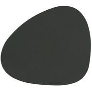 LINDDNA 981053 NUPO dark green Подстаканник из натуральной кожи фигурный 11x13 см, толщина 1,6 мм, фото 1