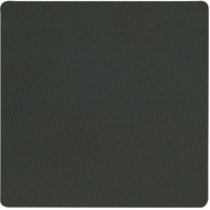 LINDDNA 981056 NUPO dark green Подстаканник из натуральной кожи квадратный 10x10 см, толщина 1,6 мм, фото 1