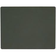 LINDDNA 981069 NUPO dark green Подстановочная салфетка из натуральной кожи прямоугольная 35x45 см, толщина 1,6 мм, фото 1