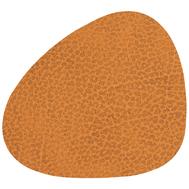 LINDDNA 981085 HIPPO curry Подстаканник из натуральной кожи фигурный 11x13 см, толщина 1,6 мм, фото 1