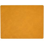 LINDDNA 981095 HIPPO curry Подстановочная салфетка из натуральной кожи прямоугольная 35x45 см, толщина 1,6 мм, фото 1