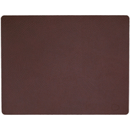 LINDDNA 981121 HIPPO plum Подстановочная салфетка из натуральной кожи прямоугольная 35x45 см, толщина 1,6 мм, фото 1