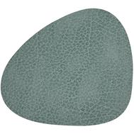 LINDDNA 981124 HIPPO pastel green Подстаканник из натуральной кожи фигурный 11х13 см, толщина 1,6мм, фото 1