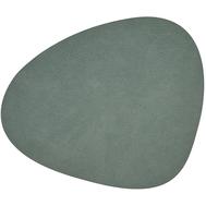 LINDDNA 981130 HIPPO pastel green Подстановочная салфетка из натуральной кожи фигурная 37х44 см, толщина 1,6мм, фото 1