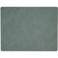 LINDDNA 981134 HIPPO pastel green Подстановочная салфетка из натуральной кожи прямоугольная 35x45 см, толщина 1,6 мм, фото 1